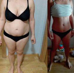 Cambio físico en 3 meses Entrena con Ainhoa