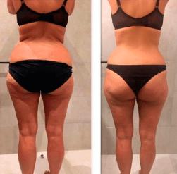 Cambio físico en 4 meses Entrena con Ainhoa