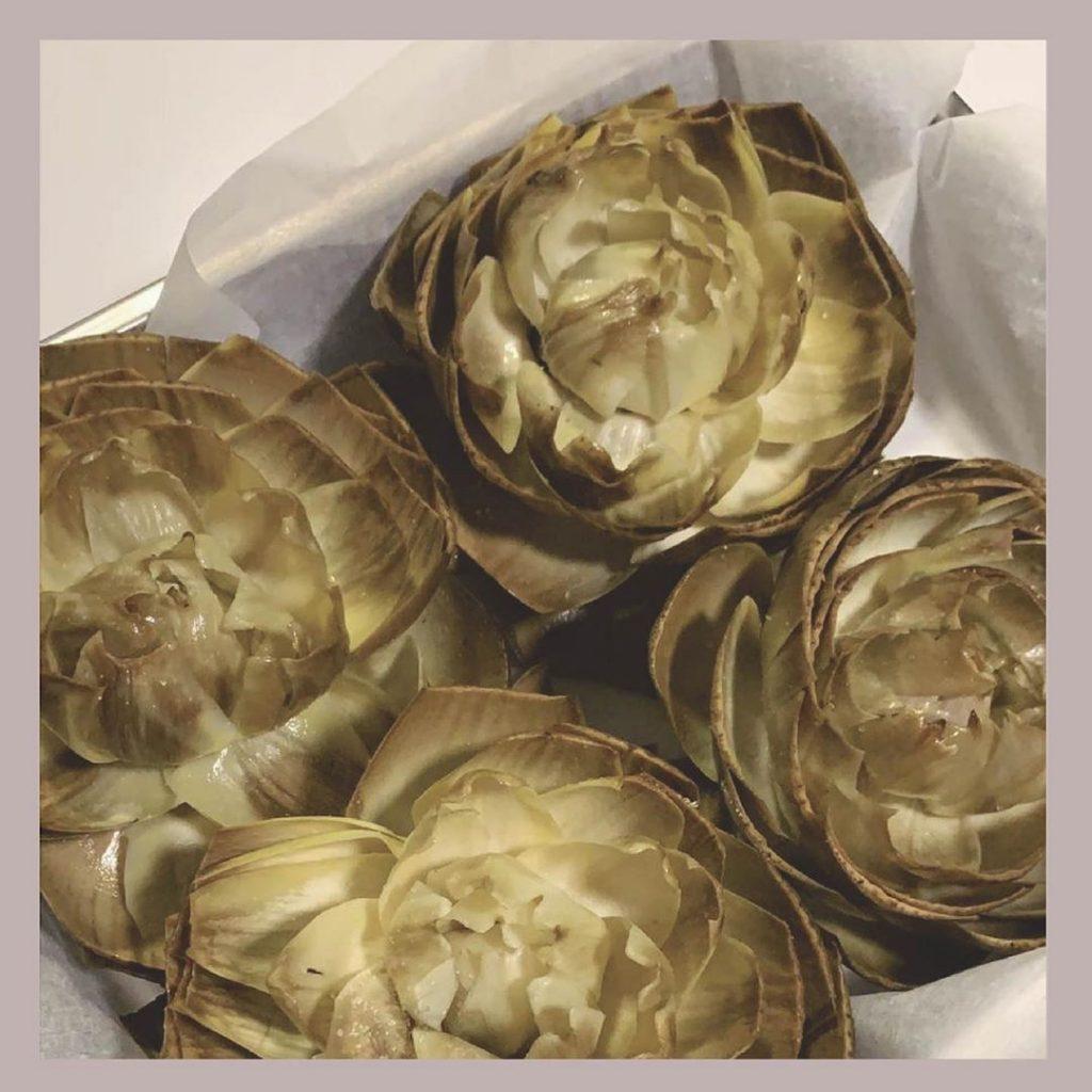 Receta fit flores de alcachofa