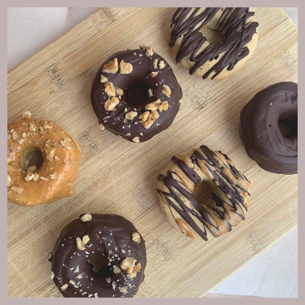 Donuts sin azúcar